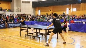 Competition table tennis