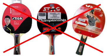professional table tennis bats