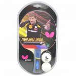 Butterfly Timo Boll 2000 FL with two balls