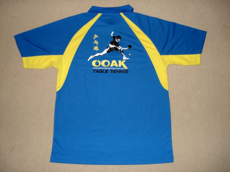 OOAK Table Tennis Team Shirt (L/XL/XXL) Clearance - Click Image to Close