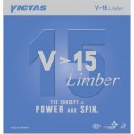 Victas V > 15 Limber - enormous spin potential - plastic balls