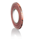 Tibhar edge tape (9mmx5m) red/Black
