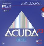 Donic Acuda Blue P3 - extreme grip for Plastic ball