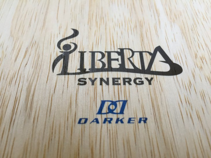 Darker Liberta SYNERGY - unique UHMW / Carbon weave! - Click Image to Close