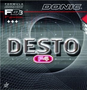 Donic Desto F4 - glue effect with more control