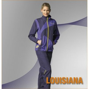 Donic Louisiana Ladies Tracksuit, colour Aubergine/Purple, SZ: S