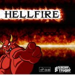 Hellfire - high disruption and high control long pimple