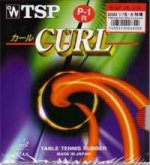 TSP CURL P-1R -highly deceptive long pimple rubber (0.5/1.0/1.5)