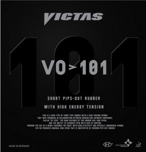 Victas VO>101 - new FAST short pimple (made in Germany)