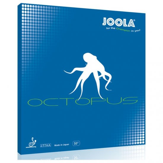 Joola Octopus - great choppers long pimple - Click Image to Close