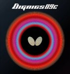 Butterfly Dignics 09C - Tacky High Tension rubber (free shipping