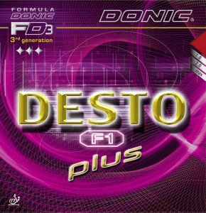 Donic Desto F1 plus - it's back and it's better!