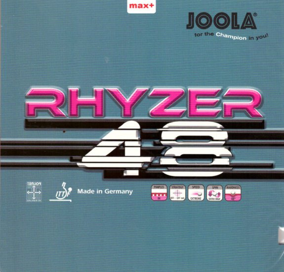 Joola Rhyzer 48 - new for 2018! - Click Image to Close