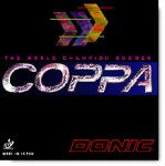 Donic Coppa - used by several former champions