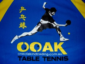 OOAK Table Tennis Team Shirt