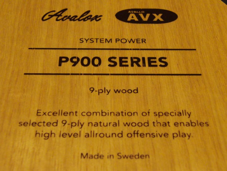 Avalox AVX P900 - 9 ply - made in Sweden! - Click Image to Close