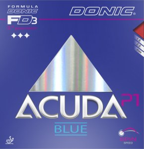 Donic Acuda Blue P1 - extreme grip for Plastic ball