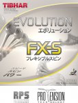 Tibhar Evolution FX-S - new for 2016!