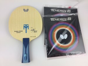 Timo Boll World #3 Champion bat: Timo Boll ALC + Tenergy 05