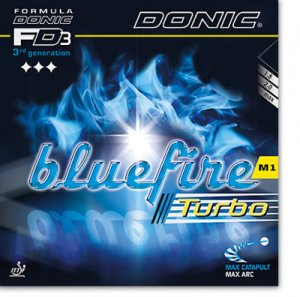 Donic Bluefire M1 TURBO - even more spin!
