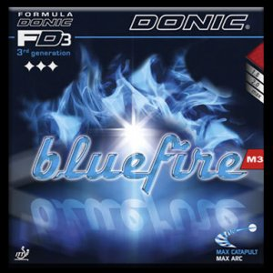 Donic Bluefire M3 - Soft, High speed, Extreme spin!