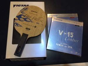 Victas Fire fall AC + V15 Limber - professional high spin loops