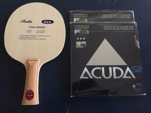 World class intermediate bat - P500 + Acuda S2