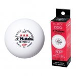 Nittaku Premium 3* 40+ balls - made in Japan (box/3, white)