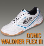 Donic Indoor Waldner Flex III (Size: EURO 47) shoes