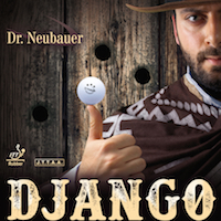 Dr Neubauer Django - Anti-Spin rubber with disruptive effect