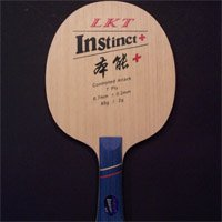 KTL Instinct+, controlled attack blade (7ply)