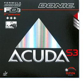 Donic ACUDA S3 - 3rd Generation!
