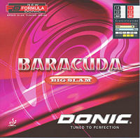 Donic Baracuda Big Slam - loud and very spinny!