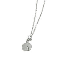 Necklace Small Bat Silver colour