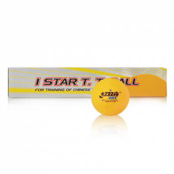 DHS 1 Star 40mm Table Tennis Balls (box/6)