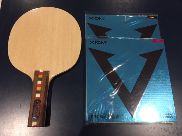 Quality Intermediate bat - Waldner Allplay + Vega Intro Tensor - Click Image to Close