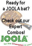 Joola blade & Rubber recommendations