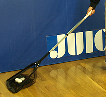 JUIC Ball Pickup Net - with pouch