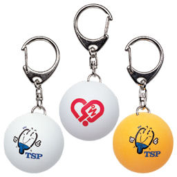 TSP Key-ring (table tennis ball) - Click Image to Close