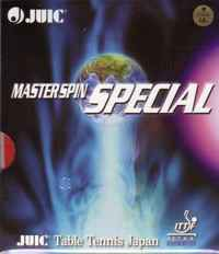 Juic Master Spin Special, medium pips (made in Japan)