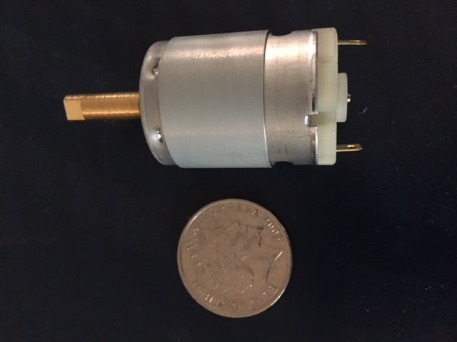2000-184 Ball Speed Motor w/ Brass Shaft - Click Image to Close