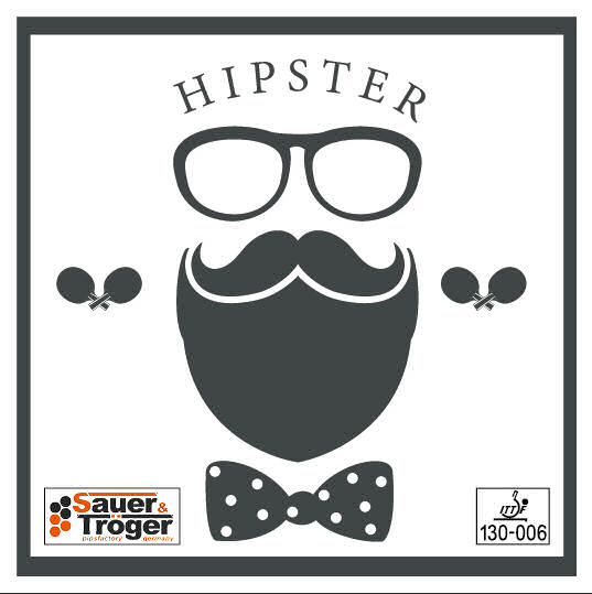 Sauer & Trogel Hipster - half long pimples - Click Image to Close