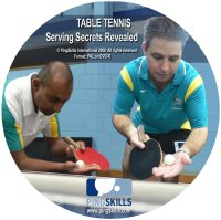 Serving Secrets Revealed - Coaching Table Tennis DVD (Clearance)