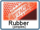 Pimple Table Tennis Rubbers