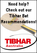 Tibhar Blade & rubber recommendations