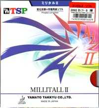 TSP MILLITALL II (medium pimples) made in Japan