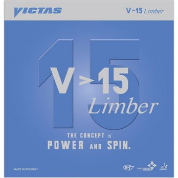 Victas V > 15 Extra - optimized for Spin & plastic balls - Click Image to Close